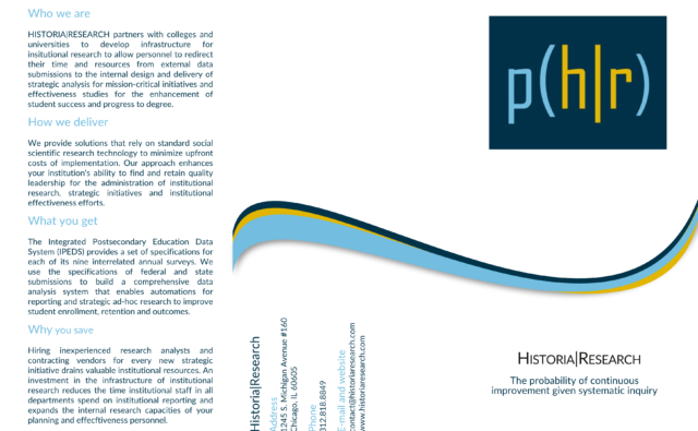 Historia Research Brochure   First Step   Front